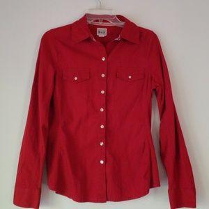 Converse One star ladies button down shirt